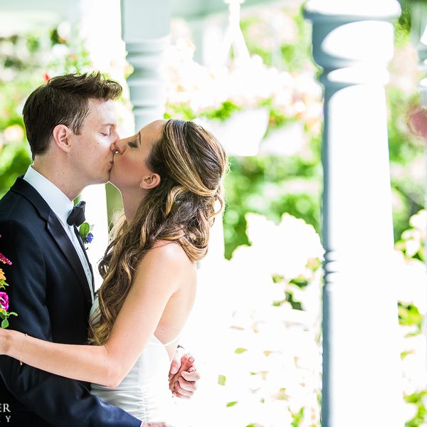 Kiss on the Veranda
