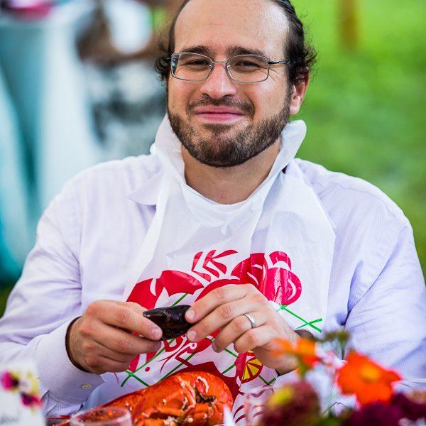 Enjoying the Lobsta'