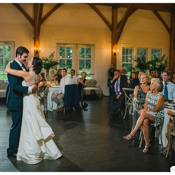 Hazel Photo - bride and groom dance -reception room